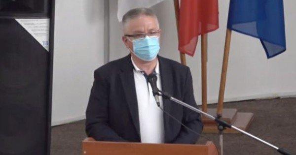 """Gîlca, chemat la raport în fața consilierilor municipali: """"De câte ori am să vin în această sală și voi vedea oameni fără măști, o să vă fac observații"""" (FOCUS)"""