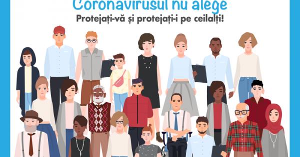 UE, OMS și OHCHR vor contribui la combaterea stigmei asociate cu COVID-19 în Republica Moldova