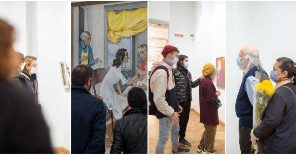 (foto) O sută de ani de artă. Artista plastică Valentina Rusu-Ciobanu își sărbătorește astăzi centenarul
