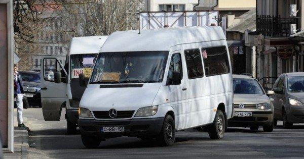 Atenție! Două rute de microbuz din Capitală au fost suspendate