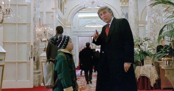 """Donald Trump ar putea fi tăiat din scena faimoasă din """"Singur Acasă 2"""". Macaulay Culkin este de acord"""