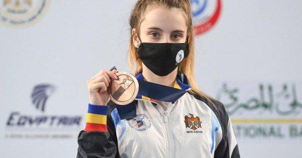 Maria Cojocari a cucerit medalia de bronz la Mondialul de scrimă printre cadeți