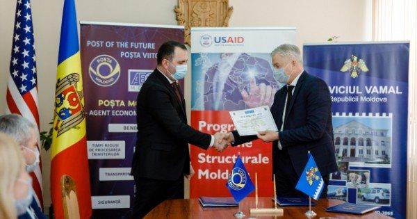 Poșta Moldovei a obținut statutul de Agent Economic Autorizat