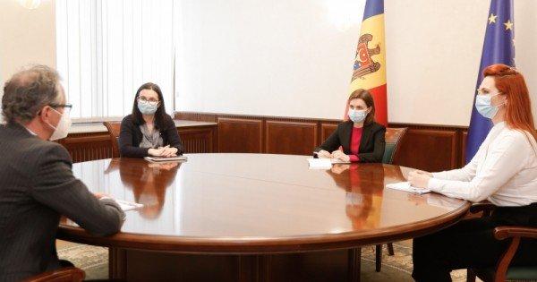 Maia Sandu a avut o întrevedere cu șeful Misiunii OSCE în Republica Moldova. Provocările de securitate din regiune, pe agenda discuțiilor