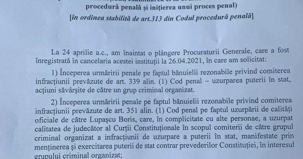 /DOC/ Sergiu Litvinenco a contestat ordonanța de refuz a procurorului general în cazul tentativei de uzurpare a puterii de stat