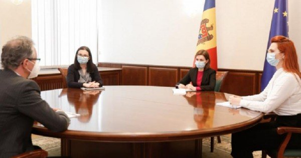 Maia Sandu a avut o întrevedere cu Claus Neukirch, șeful Misiunii OSCE în R. Moldova. Despre ce au discutat