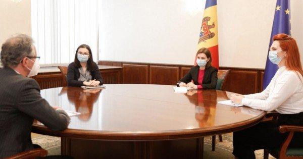 Președinta Maia Sandu a discutat cu Claus Neukirch, șeful Misiunii OSCE în R. Moldova