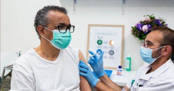 """Șeful OMS, Tedros Adhanom Ghebreyesus, anunță că s-a vaccinat împotriva COVID-19: """"Astăzi mi-a venit rândul"""""""