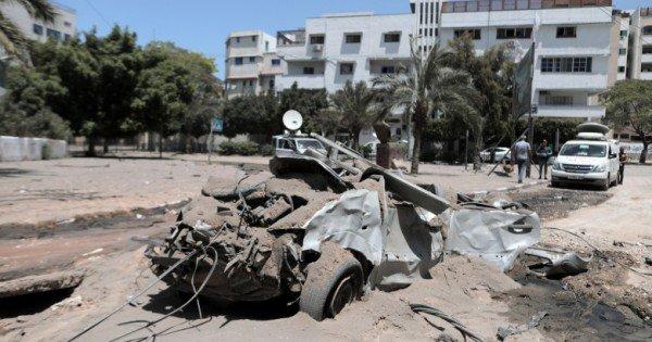 Comandantul din orașul Gaza a fost ucis într-un atac aerian israelian