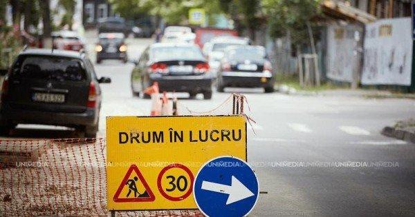 Traficul rutier, suspendat în totalitate pe strada Ion Creangă. Cum va circula transportul public