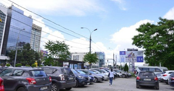 Încă o parcare publică a fost eliberată în centrul capitalei