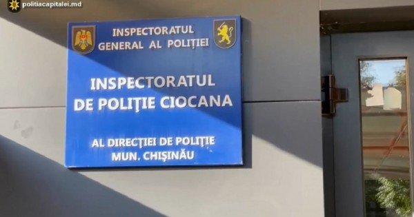 Doi bărbați de 31 și 33 de ani au fost reținuți după ce au tras mai multe focuri de armă pe o stradă din Chișinău