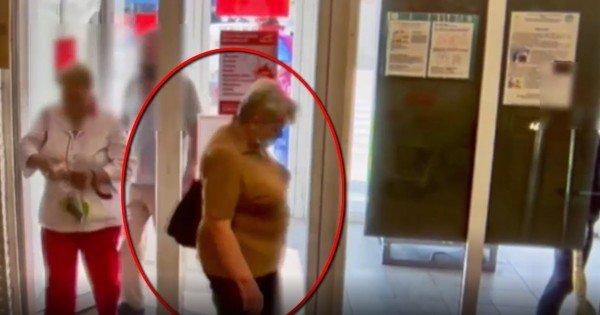 VIDEO // O femeie a furat o geantă din dulapul unui magazin din Chișinău. Dacă o recunoști, anunță Poliția