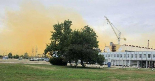 Precizările Agenției de Mediu în urma exploziei de la uzina chimică din Ucraina
