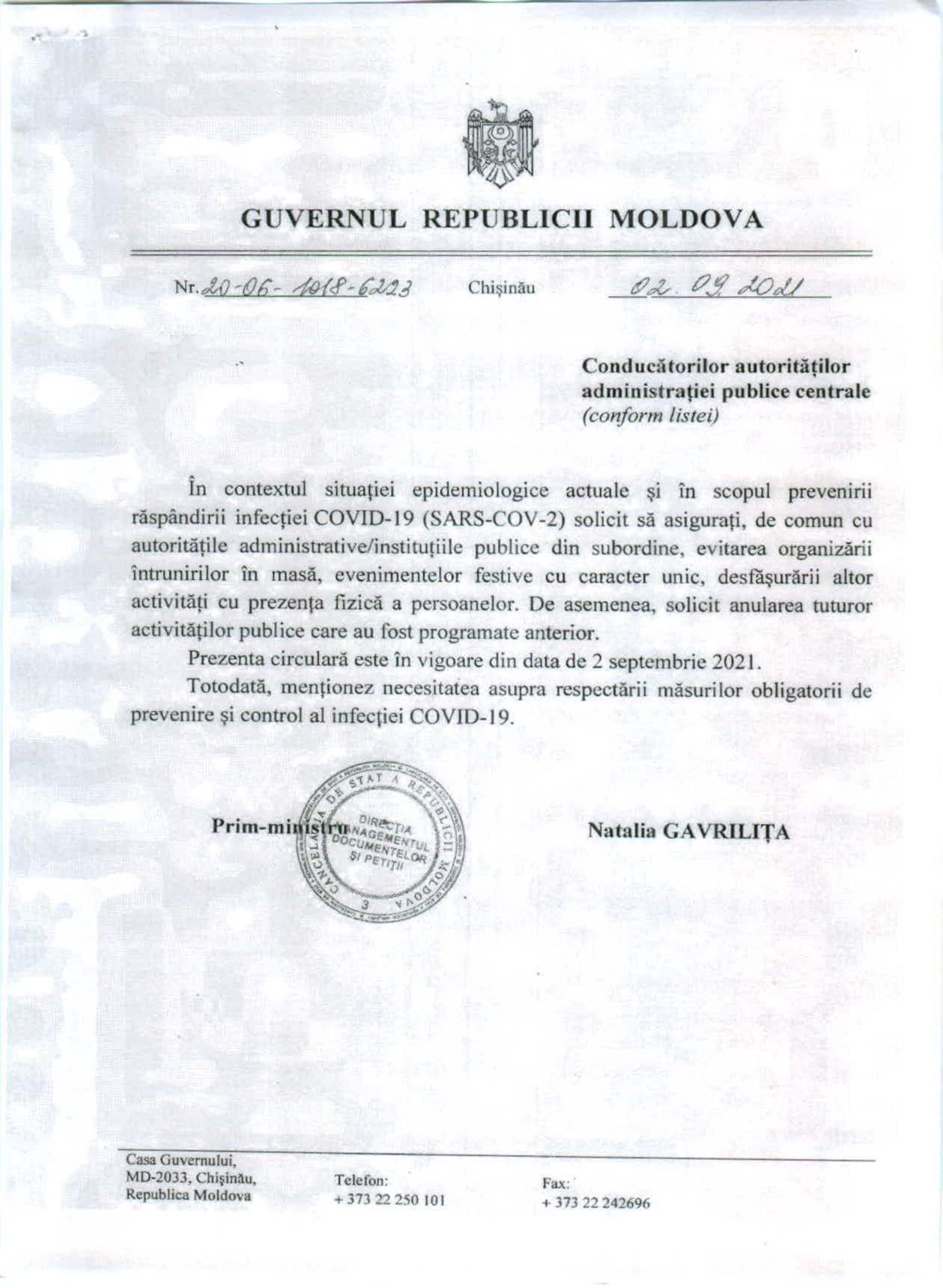 Evenimentele dedicate Zilei Naționale a Vinului au fost anulate în contextul răspândirii virusului COVID-19