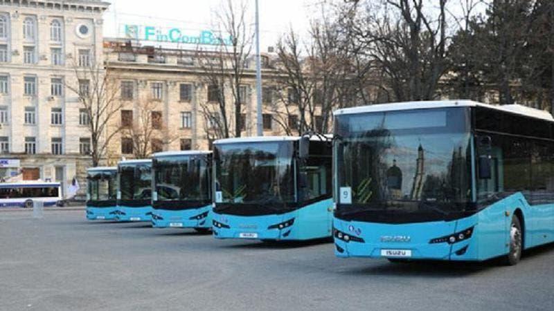 VIDEO Alte nouă autobuze de model ISUZU, la Chișinău. Au wi-fi inclus și vor fi puse astăzi pe rute. Unde