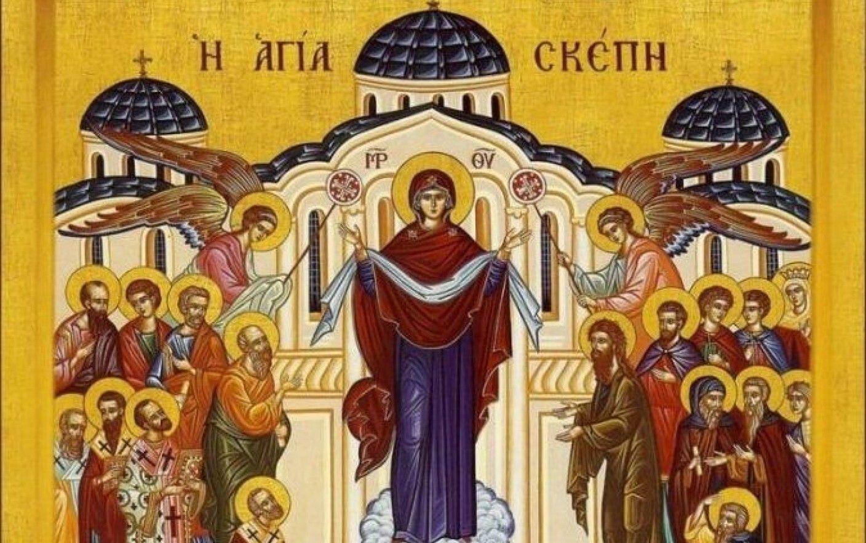 14 octombrie, de Hramul Chișinăului, marcăm Acoperământul Maicii Domnului